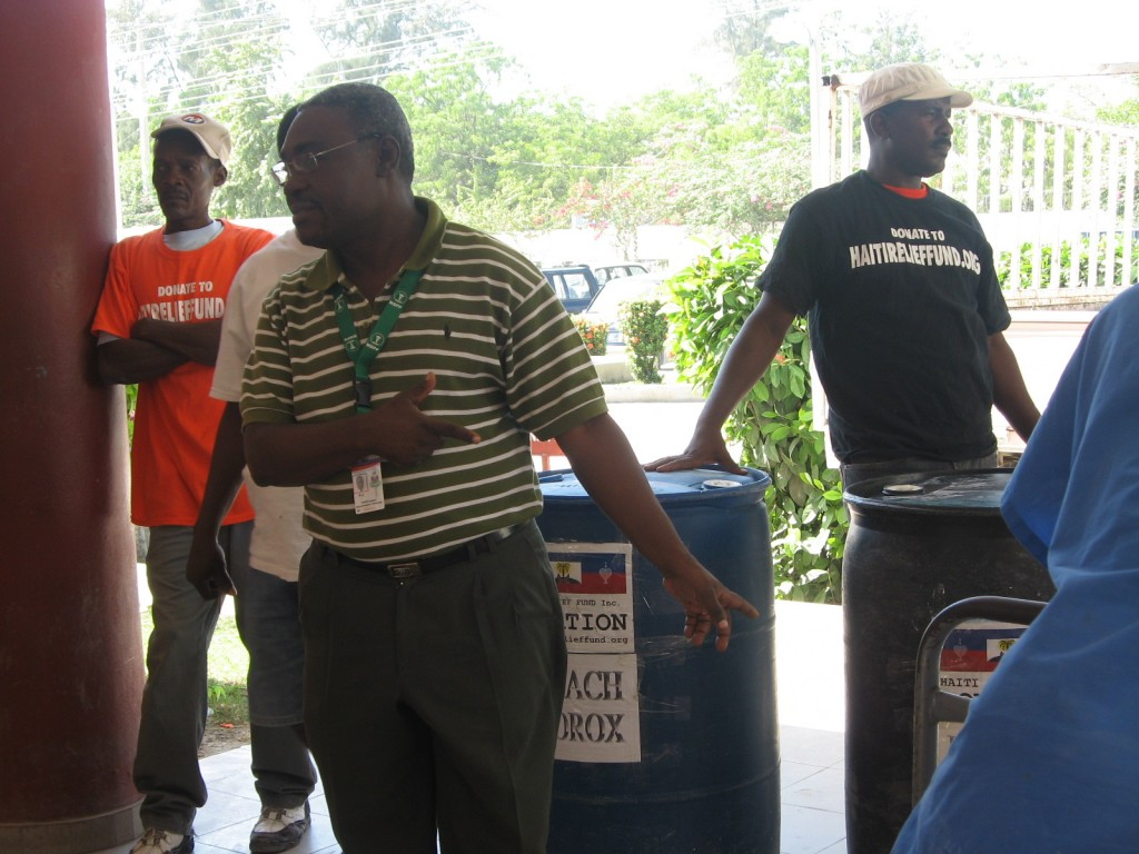 Haiti Relief Fund's response to Cholera- We are going to bleach Cholera out of Haiti.