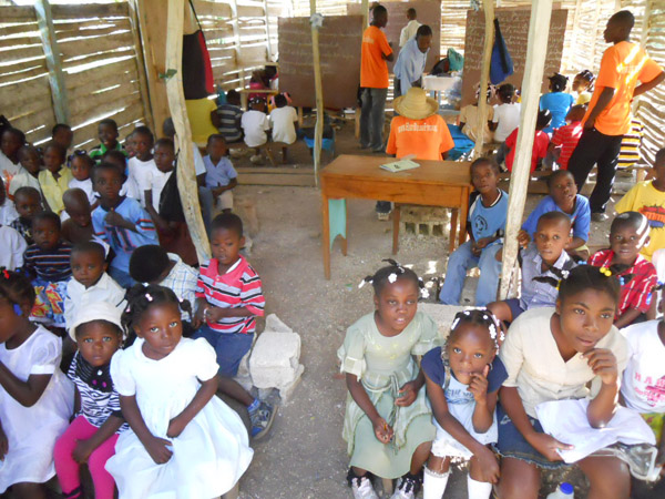 Haiti Relief Fund Community School of Coupeau
